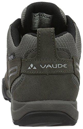 Vaude Women's Grounder Ceplex Low II, Zapatillas de Deporte Exterior para Mujer Gris (charcoal 701)