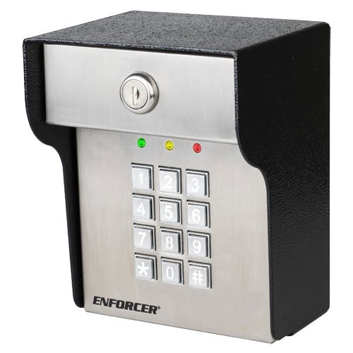 Gate Keypad (Seco-Larm Enforcer Heavy-Duty Access Control Keypad, Outdoor (SK-3523-SDQ))
