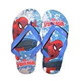 Character Marvel Ultimate 'Spiderman' Summer Size 7.5-8.5 Flip Flops Footwear