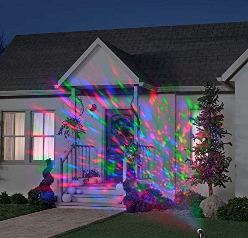 LED Lightshow Projection Kaleidoscope