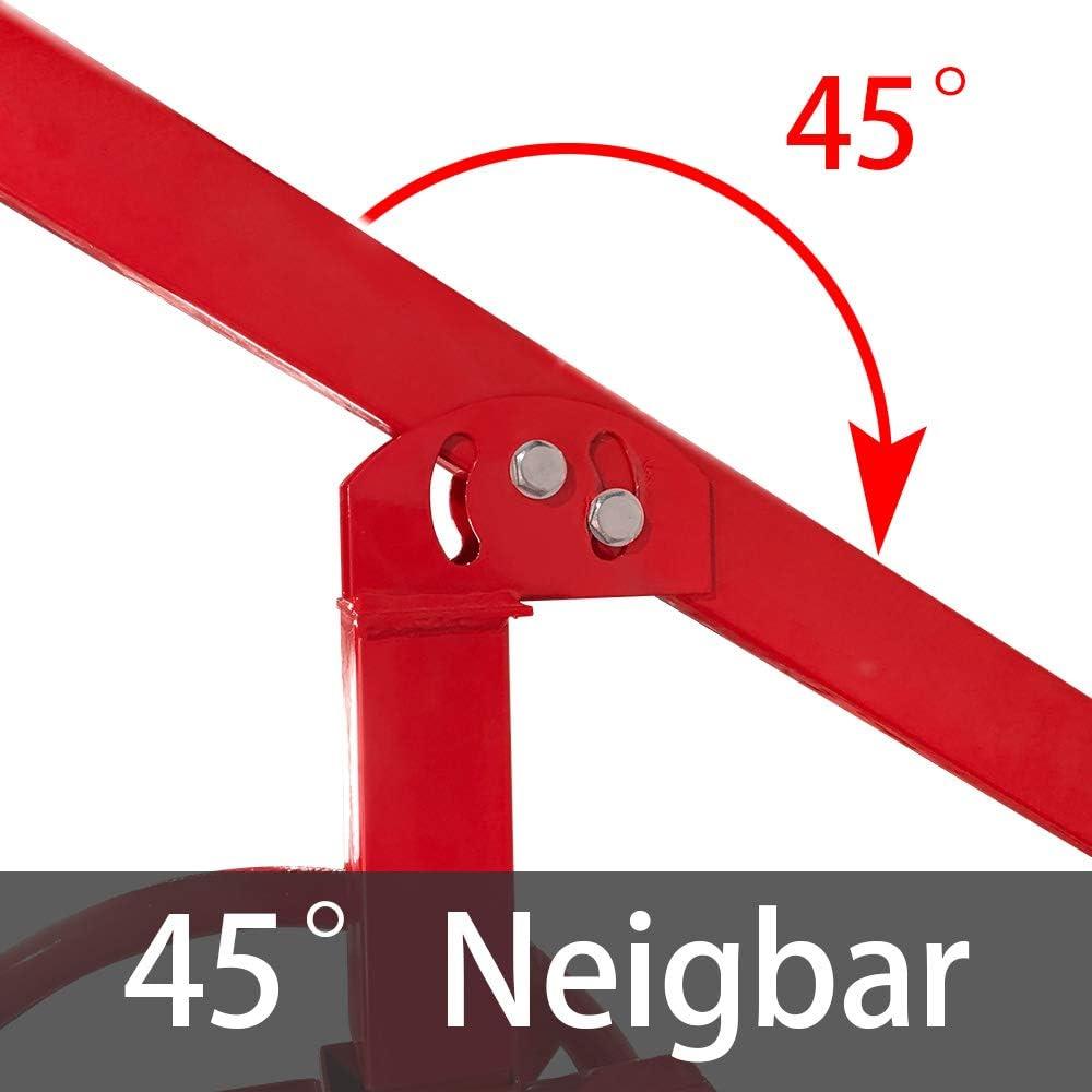 Charge maximale Hauteur de Travail Levier de Plaque de Montage Pliable pour Plafond et Mur 167-290 cm 40 kg