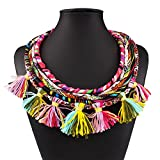 Best Star Gallery Friend Promises - SDLM Womens 5-Strands Fashion Chunky Collar Necklace Vintage Review