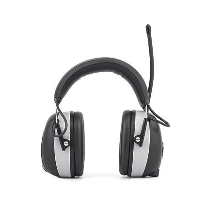 Cuffie antirumore Cuffie di sicurezza elettriche ricaricabili con  Bluetooth f311ab835698