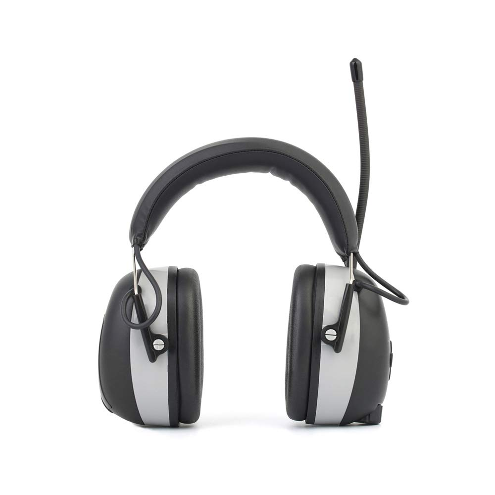 Ear Defender, FM/AM Receive Antenna, 22 dB, Comfortable Due to Light-Weight and Adjustable Headband | Ear Muffs, Hearing Protectors, Noise Protection, Ear Protectors Padded Head Band Ear Cups