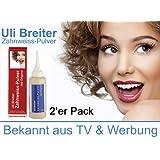 Mit natürlichen Stoffen das natürliche Zahnweiss--Uli Breiter's Zahnweiss Pulver 2er Pack