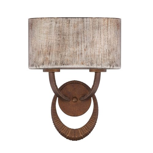 - Savoy House 9-4122-2-166 Sconce with Hand Painted Shades, Warm Brandy Finish