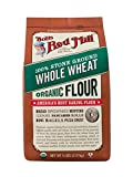 Bob's Red Mill Organic Whole Wheat Flour, 5 Pound (Pack of 4)
