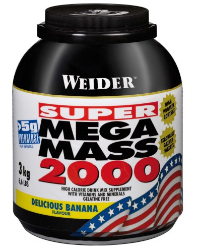 Weider Nutrition Mega Mass 2000 Banana 3000g