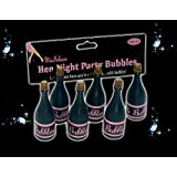 Adult Ladies Hen Party Bubbles for Wedding Hen Party