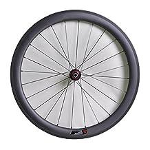 Winicebikes 23mm Width Tubular Rim Carbon Rear Wheel for Road Bike Novatec Hub