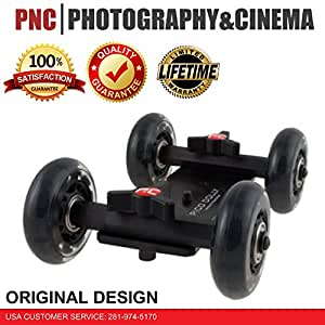 """Pico Flex Dolly """"Only"""" Digital DSLR Skater Camera Dolly Slider Table Top Dolly By Photography and Cinema"""