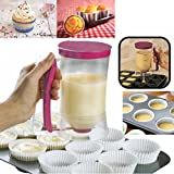 Chef Buddy Cupcake Pancake Crepe Batter Dispenser Muffin Helper Baking DIY Tool