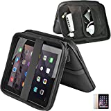 Carrying Case For iPad & iPad Air (All Generations) by Mediabridge - All-In-One Travel Case For iPad, Cables & Electronics Accessories