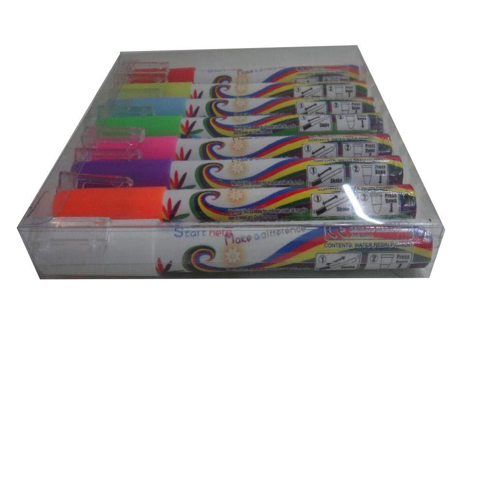 liquid chalk markers Flashcolor 80pcs 3mm Highlighter Fluorescent Liquid Chalk