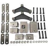 Southwest Wheel Tandem Trailer Axle Hanger Kit for Double Eye Springs (5.2K Axles)