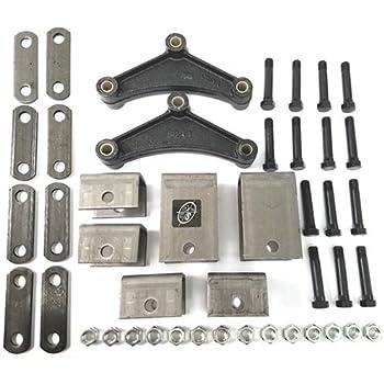For Double Eye Springs EK2-D102 Tandem Axle Hanger Kit