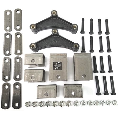 - Southwest Wheel Tandem Trailer Axle Hanger Kit for Double Eye Springs (5.2K Axles)