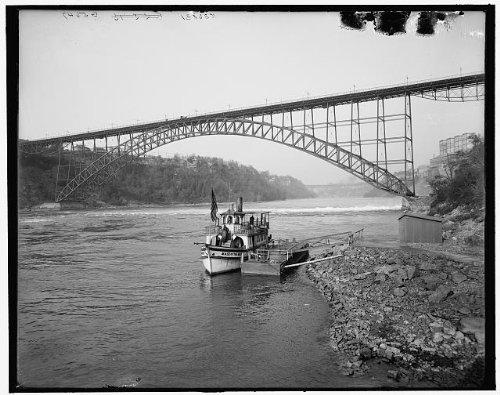 Photo: International Upper Steel Arch Bridge,Maid,Mist,Niagara Falls,New York,NY,1905 ()