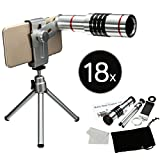 18X Optical Zoom Telescope Camera Lens Kit WIth Tripod Holder For Mobile Phone