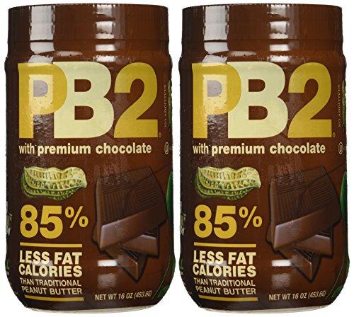 Bell Plantation PB2 Chocolate Peanut Butter, 1 lb Jar