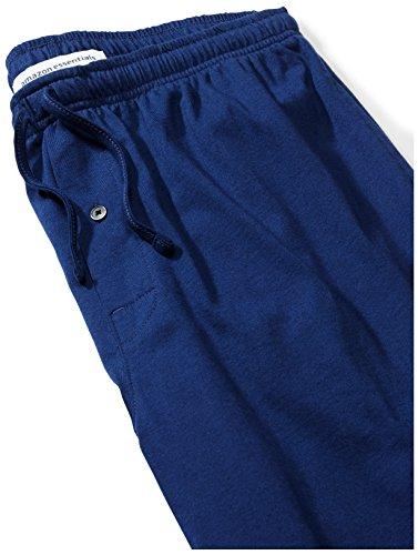 Amazon Essentials Men's Knit Pajama Pant, Blue, Medium by Amazon Essentials (Image #4)