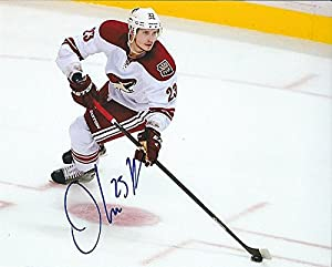 Signed Oliver Ekman-Larsson 8x10 Photo Arizona Coyotes - Certified Autograph