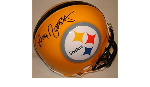 2a1d0eac6 Amazon.com: Dan Rooney Hand Signed/Autographed Pittsburgh Steelers Yellow  Mini Football Helmet - Autographed NFL Mini Helmets: Sports Collectibles
