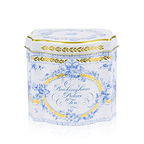 BUCKINGHAM PALACE - British Tea - Royal Bird Song Tea - 50 Count Tea Bags in a Georgian Tea Caddy (1 Pack) NEW LIMITED STOCKS - USA Stock