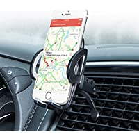 Bestfy Air Vent Phone Car Mount, Universal Car Mount Phone Holder with Quick Release Button for iPhone X/8/8 Plus/7/6/ 6Plus/5s, Samsung Galaxy S8/Note 8, Huawei, Sony and More Smartphones