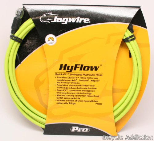 Jagwire HyFlow Disc Hose, Ergon Green, 3000mm, Requires Jagwire HyFlow Quick-Fit Kit -