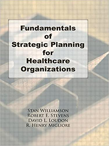 Fundamentals of strategic planning for healthcare organizations fundamentals of strategic planning for healthcare organizations haworth marketing resources 1st edition fandeluxe Gallery