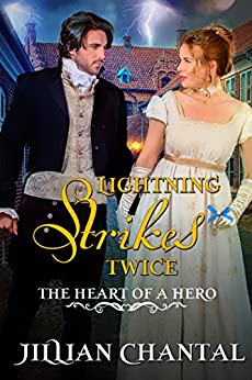 Lightning Strikes Twice (The Heart of a Hero Book 4) by [Chantal, Jillian, Series, The Heart of a Hero]