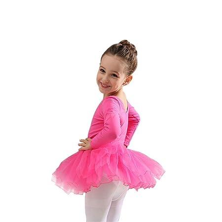 Ballet de vestir de leotardo para niñas Vestido de tutú lindo para ...