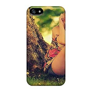 For Iphone 5/5s Tpu Phone Case Cover(cowgirl Beauty)