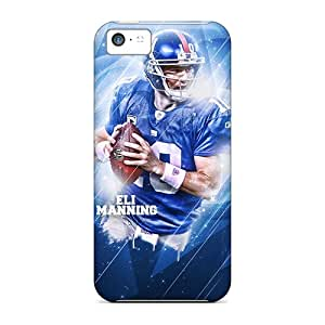 Protective Hard Phone Covers For Iphone 5c (KQF14433gqyu) Customized Nice New York Giants Pattern
