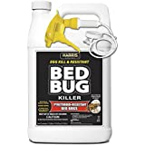 Harris Toughest Bed Bug Killer, Liquid Spray with Odorless and Non-Staining Extended Residual Kill Formula (Gallon)
