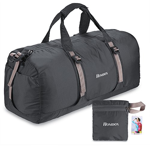 Homdox 40L Foldable Duffle Bag for Gym or Lugga...