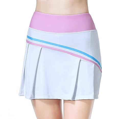 BEROY Falda de Tenis Skort Golf Mujer Pliegues Pantalón Ropa Padel ...