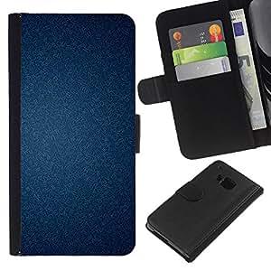 EJOY---La carpeta del tirón la caja de cuero de alta calidad de la PU Caso protector / HTC One M7 / --Textura del papel pintado con clase