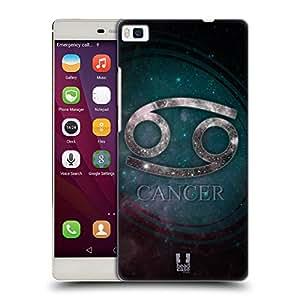 Head Case Designs Cancer Nebula Zodiac Symbols Hard Back Case for Huawei P8