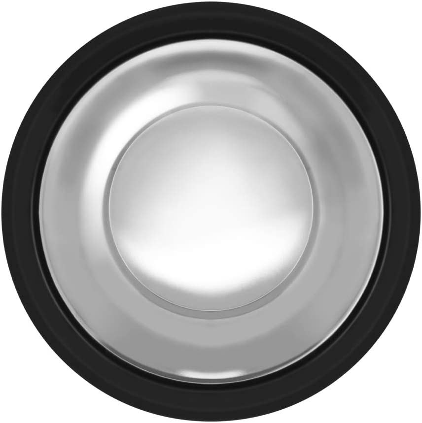Garbage Disposal Stopper, 3 3/8 inch (8.5cm), Stainless Steel Garbage Disposal Plug for InSinkErator Garbage Disposal, Fits Standard Kitchen Drain size of 3 1/2 Inch Diameter