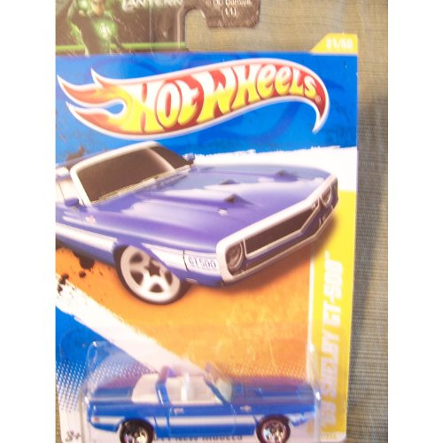 Hot Wheels 2011 New Models '69 Shelby GT-500 on Green Lantern Card ()