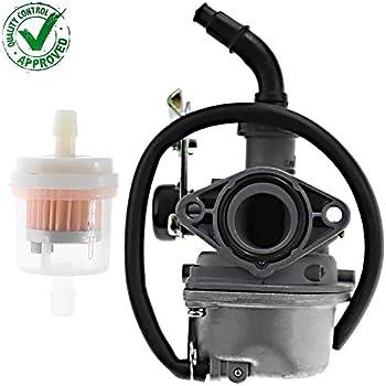 Amazon com: Carburetor Carb w/Filter for Polaris Outlaw 50