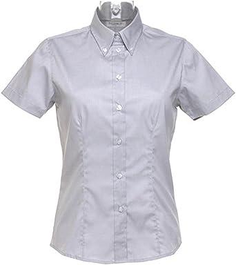 Kustom Kit - Camisas - Manga corta - para mujer Plateado ...