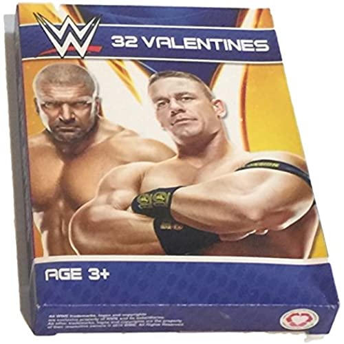 Paper Valentine's Day Cards - Set of 32 (WWE) Sales