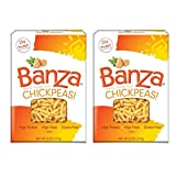 Banza Chickpea Pasta, Rotini, 8 Ounces (Pack of 2)