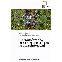 TRANSFERT DES CONNAISSANCES DANS LE DOMAINE SOCIAL (LE)