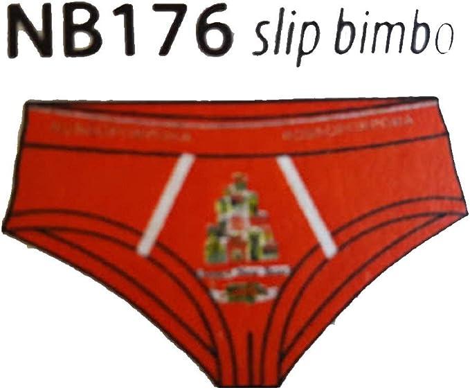 Slip BAMBINO RAGAZZO Rosso RossoPorpora ART NB176 NATALE NATALIZIO