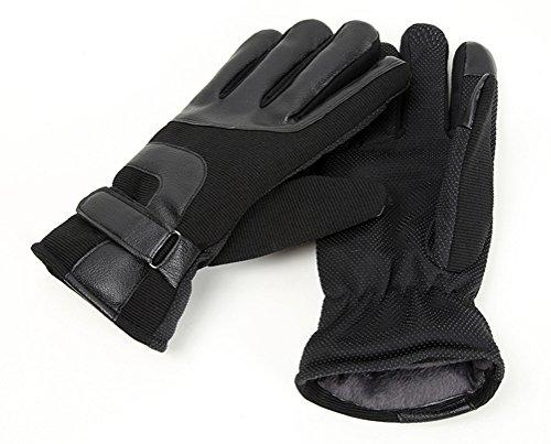 Men's Outdoor Sports Cotton Gloves Thicken Warm Gloves Warm Riding Riding Gloves