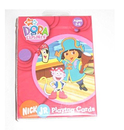 Nick Jr Dora the Explorer Playing Cards (ages - Dora Bicycle Explorer The